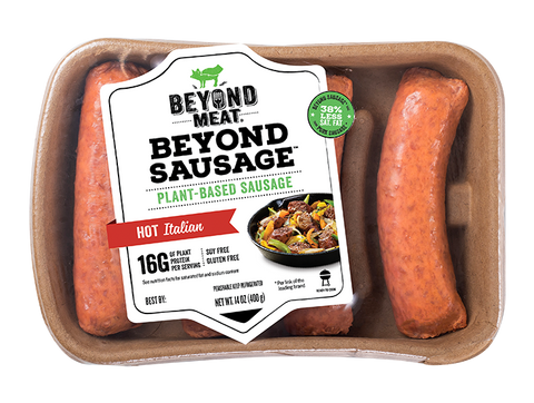 BEYOND SAUSAGE® HOT ITALIAN-BEYOND MEAT
