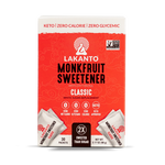 CLASSIC MONKFRUIT 2:1 SWEETENER PACKETS 3.17 OZ - LAKANTO