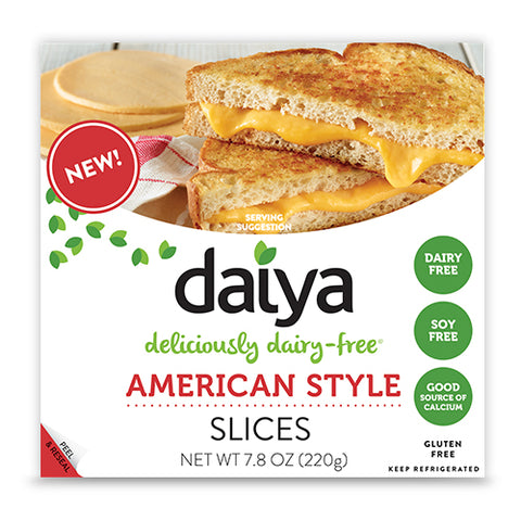 CHEESE SLICES AMERICAN STYLE 7.8 OZ - DAIYA