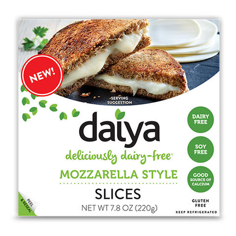 CHEESE MOZZARELLA STYLE 7.8 OZ -DAIYA