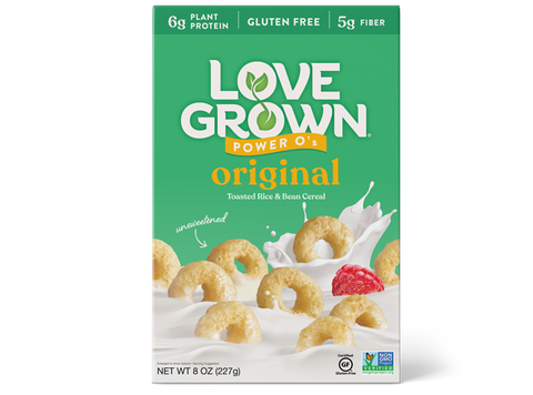 ORIGINAL CEREAL POWER O'S - LOVE GROWN