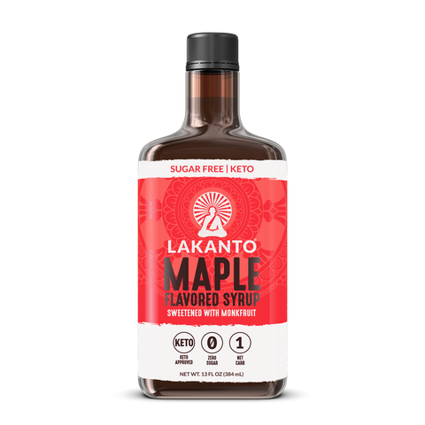 SUGAR-FREE MAPLE SYRUP 13 OZ - LAKANTO