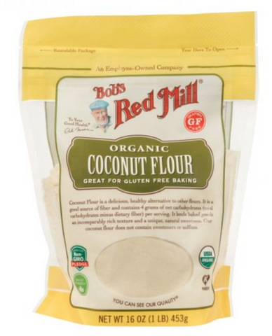 Organic Coconut Flour 16 OZ- BOB'S RED MILL