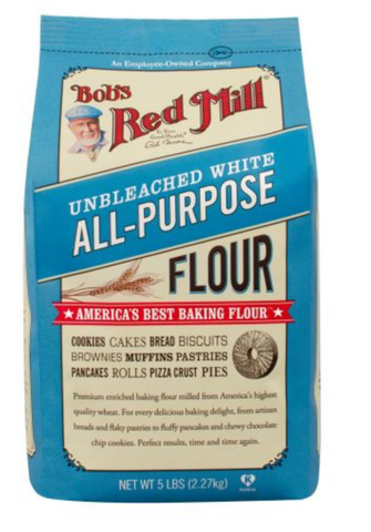 Unbleached White All Purpose Flour 5LB- BOB'S RED MILL