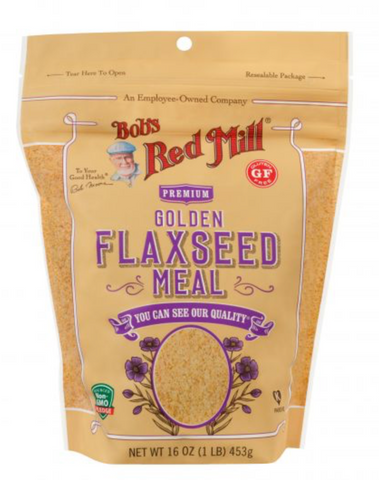 Golden Flaxseed Meal 1LB- BOB'S RED MILL