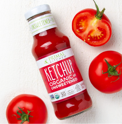 Organic Unsweetened Ketchup 11.2 OZ - PRIMAL KITCHEN
