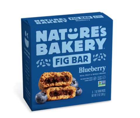 BLUEBERRY FIG BARS (6) - NATURE'S PATH