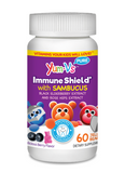 IMMUNE SHIELD WITH SAMBUCUS 60 JELLIES - YUMVS