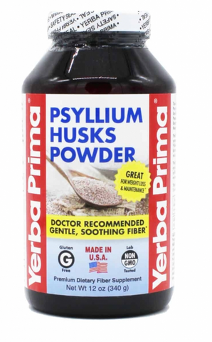 Fiber Powder Psyllium Husks - 12 OZ
