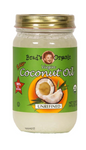 ORG COCONUT OIL UNREFINED 14oz - Brad's