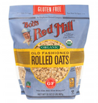 Organic Old Fashioned Rolled Oats 32 oz Gluten Free - BOBDS RED MILL