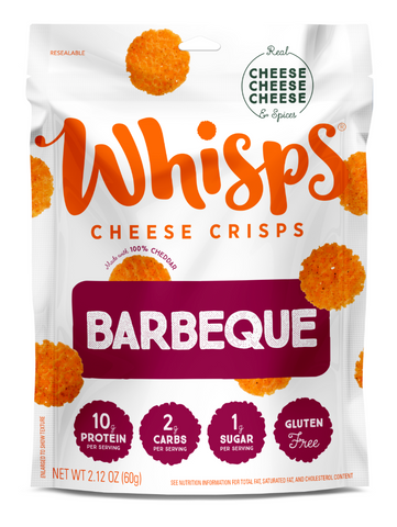 Barbeque Cheese Crisps - Whisps