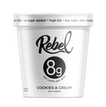 REBEL ICE CREAM - FLAVORS