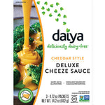 CHEDDAR STYLE DELUXE CHEEZE SAUCE 14.2 OZ - DAIYA