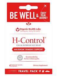 H-Control® Travel Pack - ORGANIC HEALTH LABS