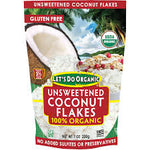 ORGANIC COCONUT FLAKES UNSWT 7 OZ -LET'S DO