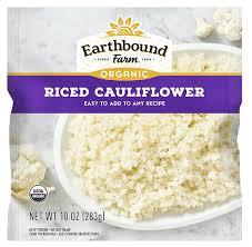 FROZEN ORGANIC RICED CAULIFLOWER 10 OZ - COLIFLOR