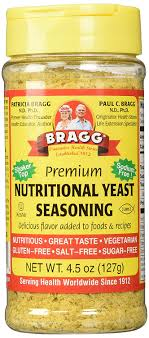 NUTRITIONAL YEAST SEASONINg 4.5 OZ- BRAGG