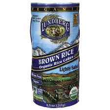 BROWN RICE-ORGANIC RICE CAKES 8.5 OZ- LUNDBERG