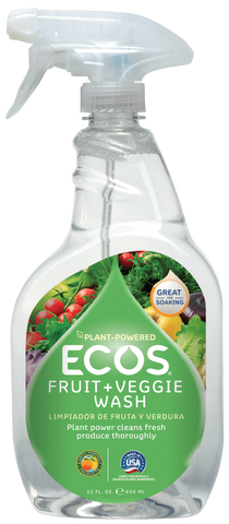 Fruit + Veggie Wash 22oz- Ecos