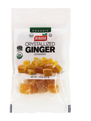 Organic Crystallized Ginger- Badia