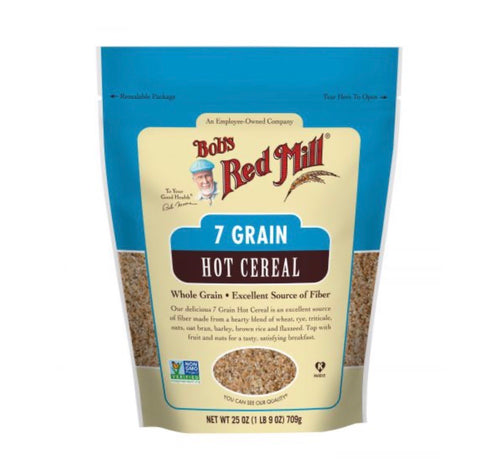 7 grain hot cereal 25oz - Bob's Red Mill