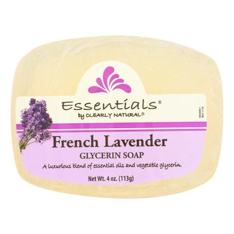French Lavender Glycerin Soap- Essentials