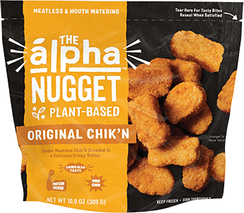 Chicken nuggets- Alpha Plant Based