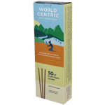 Paper straws 50ct- World Centric