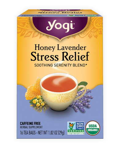 Honey Lavender Stress Relief- Yogi Tea