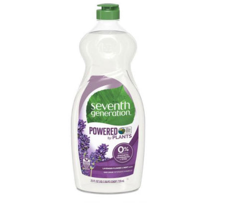 Dish Liquid - Lavender Flower and Mint Scent - Seventh Generation