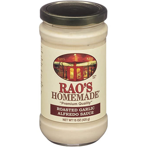 Roasted Garlic Alfredo 15oz- Rao's
