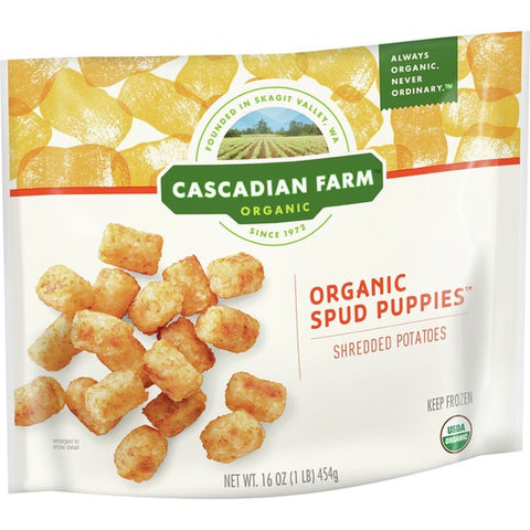Organic spud puppies- Cascadian Farm