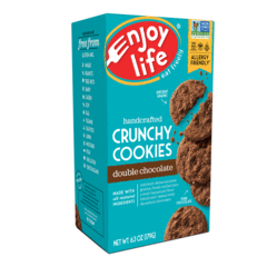 Double chocolate crunchy cookies 6oz- Enjoy life