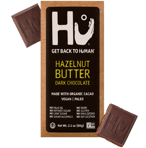 Hazelnut Butter Dark Chocolate- Hu