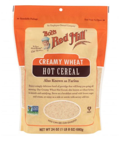 Creamy Wheat Hot Cereal- Bob's Red Mill