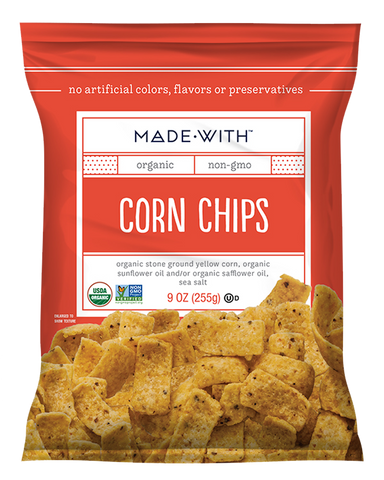 Organic Corn Chips - Made With