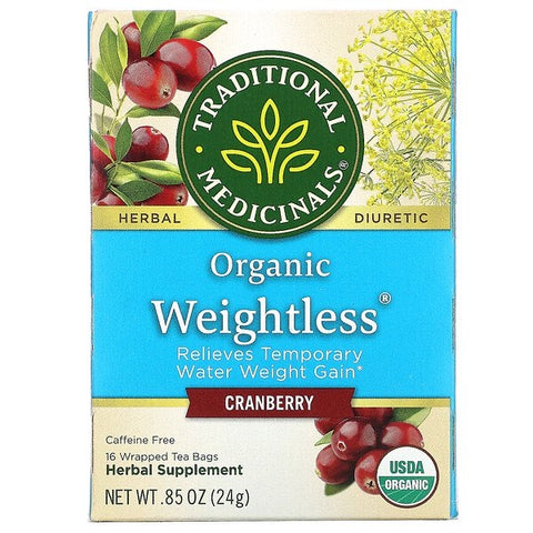 Organic Weightless Tea- Traditional Medicinals