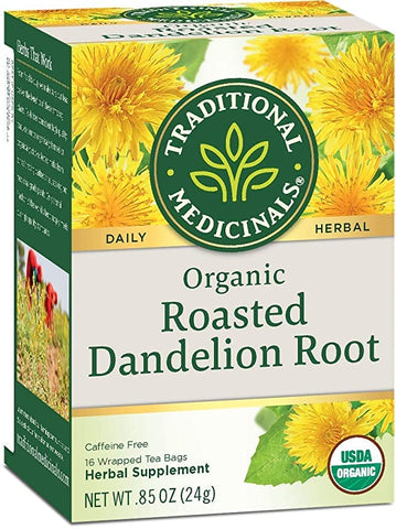 Roasted Dandelion Root .85oz Traditional Medicinals