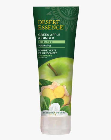 GREEN APPLE & GINGER SHAMPOO 8oz- Desert Essence