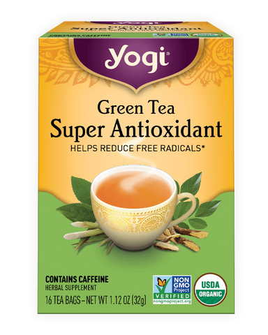 Green tea pure green decaf 16ct - Yogi