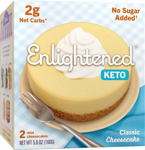 Classic Keto Cheesecake - Enlightened