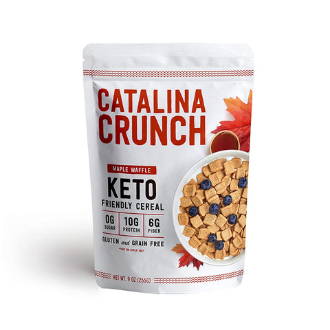 Maple Waffle Keto Cereal- Catalina Crunch
