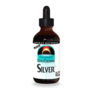 Ultra Colloidal Silver 2OZ- Source Naturals