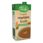 Low Sodium Vegetable Broth- Pacific Foods