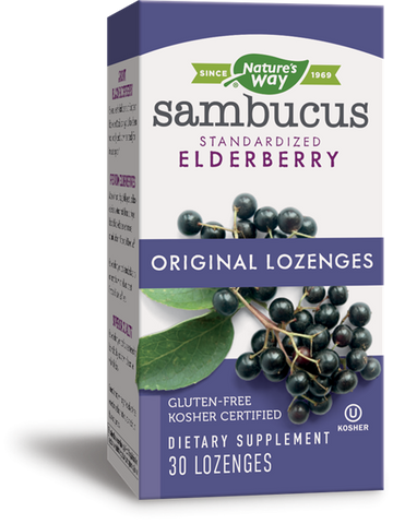 Sambucus original 30 lozenges/losanjes - Nature's way