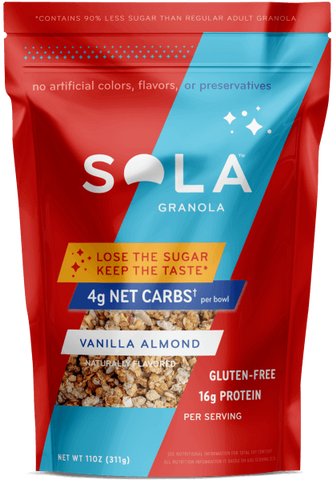 Keto friendly granola- Sola
