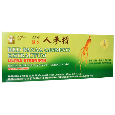 Red Panax Ginseng Extractum 10ct- Prince of Peace