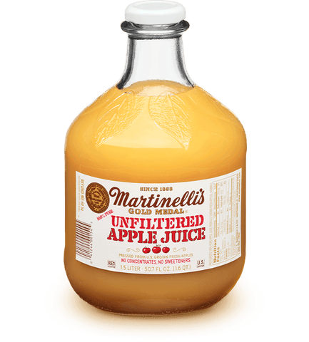 Unfiltered Apple Juice 50.7 OZ - MARTINELLI'S