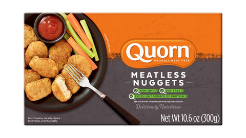 MEATLESS CHICKEN NUGGETS - QUORN